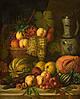 Картина Натюрморт овощи и фрукты на натуральном холсте Артприз 30х40см (Н5/3040/101)