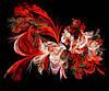 Картина Абстракция 3 на натуральном холсте Артприз 50х60см (А3/5060/104)