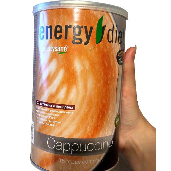 Коктейль Капучино Енерджи Диет Energy Diet HD банка баланс питание без диет и голода контроль веса
