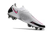 Бутсы Nike Phantom GT Elite FG white/pink, фото 4
