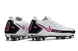 Бутсы Nike Phantom GT Elite FG white/pink, фото 5
