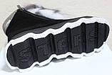 Ботинки молодежные женские с натуральным мехом от производителя модель УН433-1, фото 6