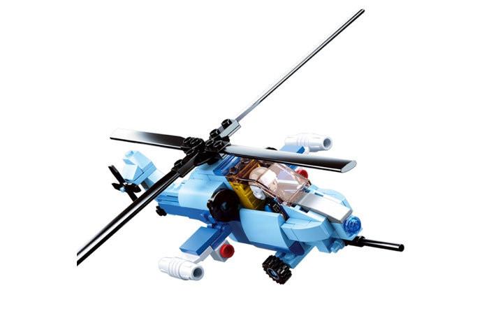Конструктор SLUBAN M38-B0666 (Вертолет военный)