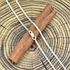 Серебряная цепочка Панцирная двойная длина 40 см ширина 1.5 мм вес 2.7 г, фото 2