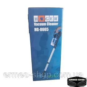 Аккумуляторный пылесос вертикальный с колбой Haeger HG-8665