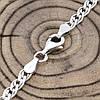 Срібний ланцюжок родований Нонна довжина 45 см ширина 4.5 мм вага 10.95 г, фото 4