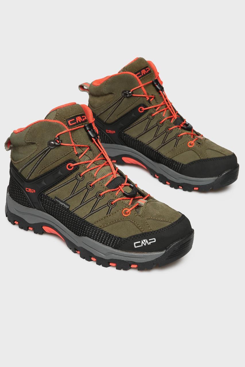 CMP Детские зеленые замшевые ботинки хаки