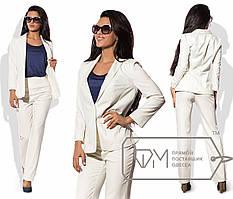 Стильный женский костюм норма р.44-46   Фабрика Моды