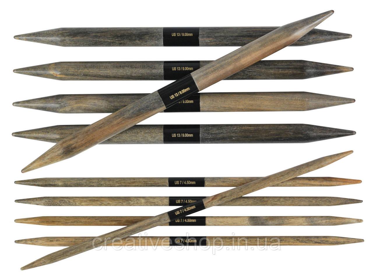 Носочные спицы Lykke Driftwood 3,25