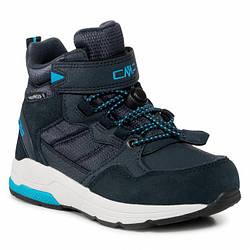 Ботинки кожанные демисезонные CMP Hadil Lifestyle Shoes Wp 30Q4524 Anthracite U423