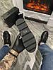 Женские демисезонные ботинки Puma Rihanna Chelsea Sneakers Boot (Premium-class) черные, фото 5