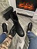 Женские демисезонные ботинки Puma Rihanna Chelsea Sneakers Boot (Premium-class) черные, фото 4