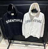 Мужская кофта худи Essentials D10183 черная, фото 3