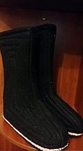 Валенки шитые с подошвой ручная работа высокие низкие галоши калоши валянки