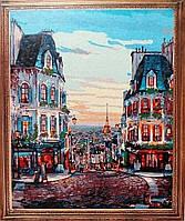 Картина по номерам 40х50 Вечерний Париж (в коробке)