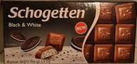 "( Срок сходит 31.07.2017)Шоколад ""Schogetten"" Black&White 100 г."