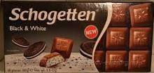 "Шоколад ""Schogetten"" Black&White 100 г."