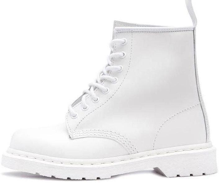 Женские демисезонные ботинки Dr. Martens Jadone Cream (Premium-class) кремовые