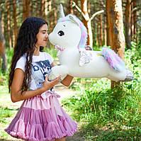 Единорог игрушка большая мягкая 65 см