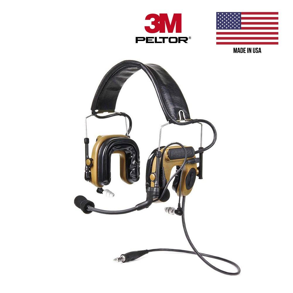 Активные наушники 3M PELTOR COMTAC IV Single Comm Hybrid Communication Headset