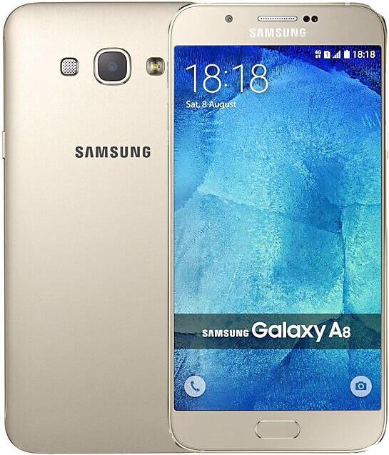 Смартфон Samsung Galaxy A8 A8000 2/16GB Gold 2 sim REF
