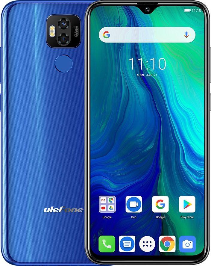 Смартфон UleFone Power 6 blue