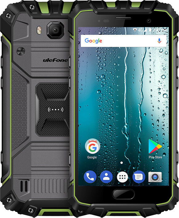 Смартфон UleFone Armor 2S green