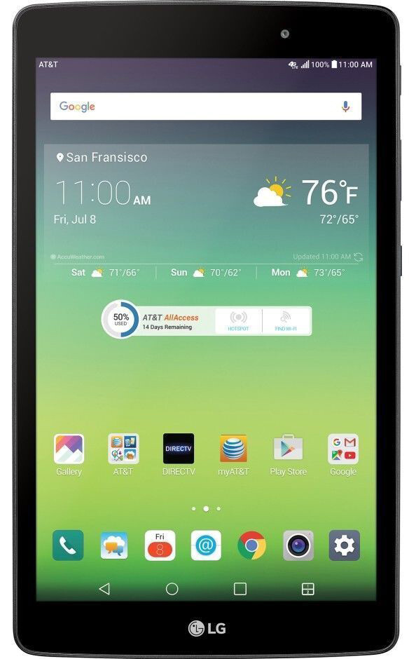 Планшет LG G Pad X V520 8.0 Black