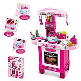 Кухня 008-939 іграшка дитяча висока з парою посудом, фото 2