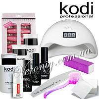 Стартовый набор для покрытия ногтей гель лаком Kodi Professional с лампой SUN 5, 48 w