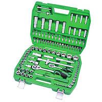 ET-6108SP INTERTOOL 108 ед, набор инструментов для авто и дома Интертул ЕТ-6108СП для автомобиля Інтертул