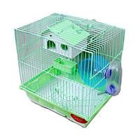 Клетка для хомячков 115 с выдвижным поддоном .+аксессуары.30х23х31 см