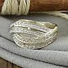 Серебряное кольцо Варшава вставка белые фианиты вес 5.2 г размер 20, фото 4