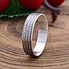 Серебряное кольцо Отче наш вес 2.3 г размер 19, фото 3