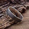 Серебряное кольцо Отче наш вес 2.3 г размер 19, фото 5