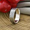 Серебряное кольцо Молитва водителя  вес 3.0 г размер 23, фото 4