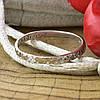 Серебряное кольцо Спаси и сохрани вес 0.92 г размер 17.5 вставка белые фианиты, фото 4