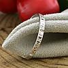 Серебряное кольцо Спаси и сохрани вес 0.92 г размер 17.5 вставка белые фианиты, фото 5