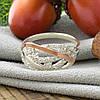 Серебряное кольцо с золотом Ольвия вставка белые фианиты вес 3.15 г размер 21.5, фото 2