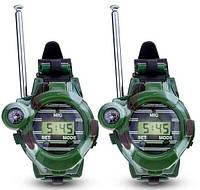 7 в 1 радіостанції, годинник, компас, об'єктив, ліхтар, відбивач, секретні капсули комплект