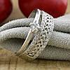 Серебряное кольцо Пассаж вес 2.5 г размер 17.5 белые фианиты, фото 3