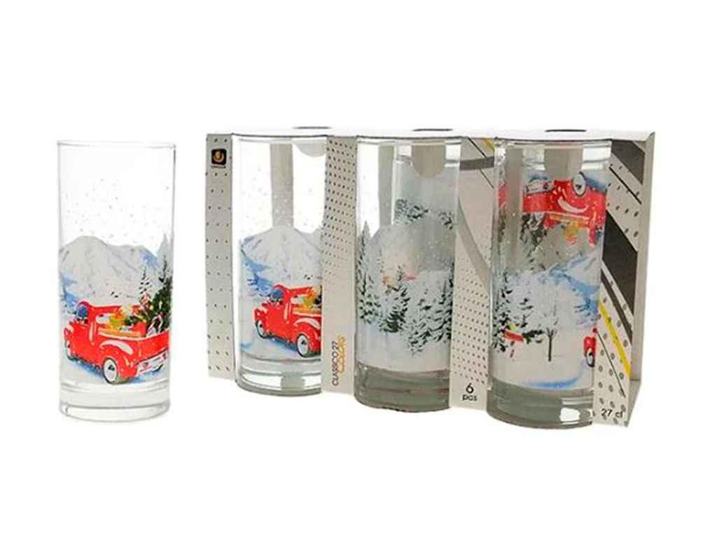 Набір склянок 260 мл (6шт в наборі) D-347 ТМUNIGLASS