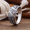 Серебряное кольцо Славяночка вставка белые фианиты вес 2.4 г размер 20.5, фото 2