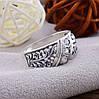 Серебряное кольцо Славяночка вставка белые фианиты вес 2.4 г размер 20.5, фото 3