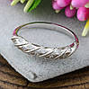 Серебряное кольцо Адель вставка белые фианиты вес 1.55 г размер 18.5, фото 2