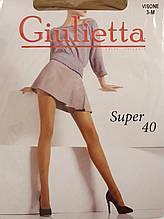 Жіночі колготки без шортиків Giulietta 40 Den р. 3