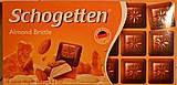 Молочный шоколад Schogetten almond brittle 100g