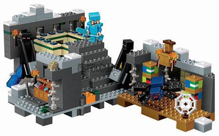 """Конструктор Bela """"Minecraft"""" (10470) Портал в Край, 571 деталь, фото 2"""