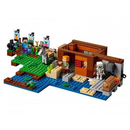 """Конструктор Bela """"Minecraft"""" (10813) Фермерский коттедж, 560 деталей, фото 2"""