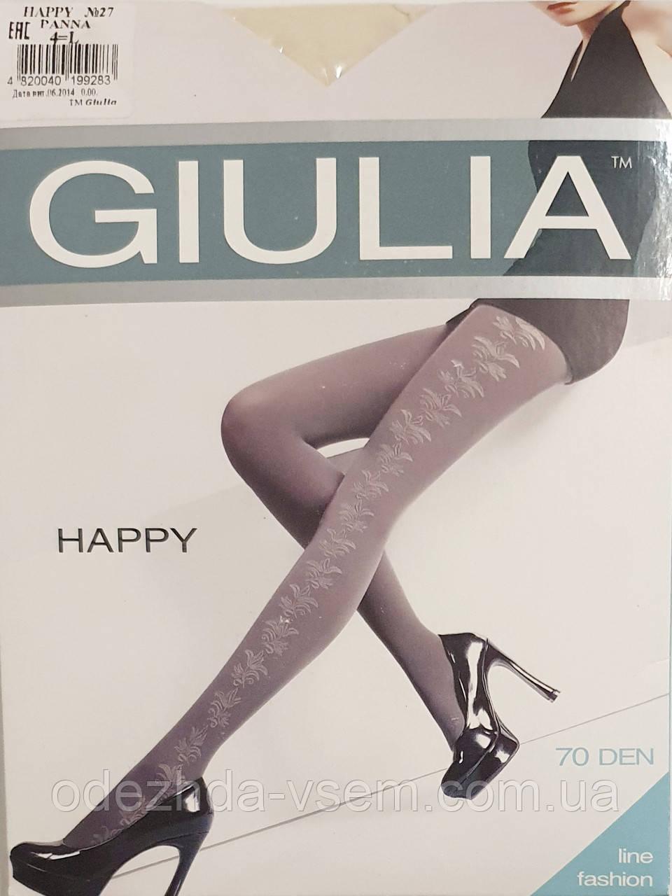 Женские колготки Giulia 70 Den Молочный